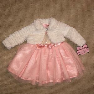 Nannette Baby Formal Dress & Jacket